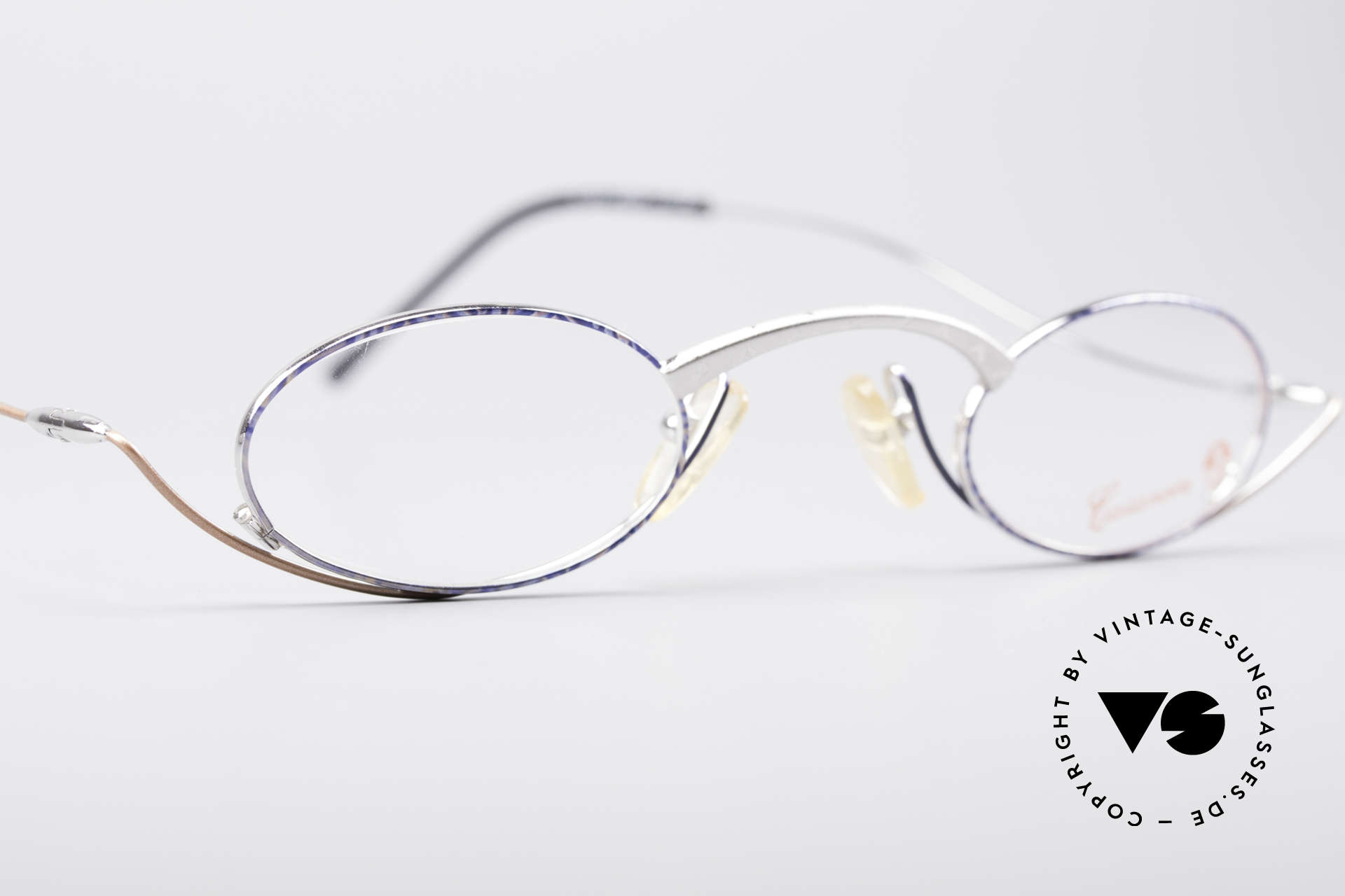 Casanova LC44 Artistic Reading Glasses, unworn (like all our rare vintage reading eyeglasses), Made for Men and Women
