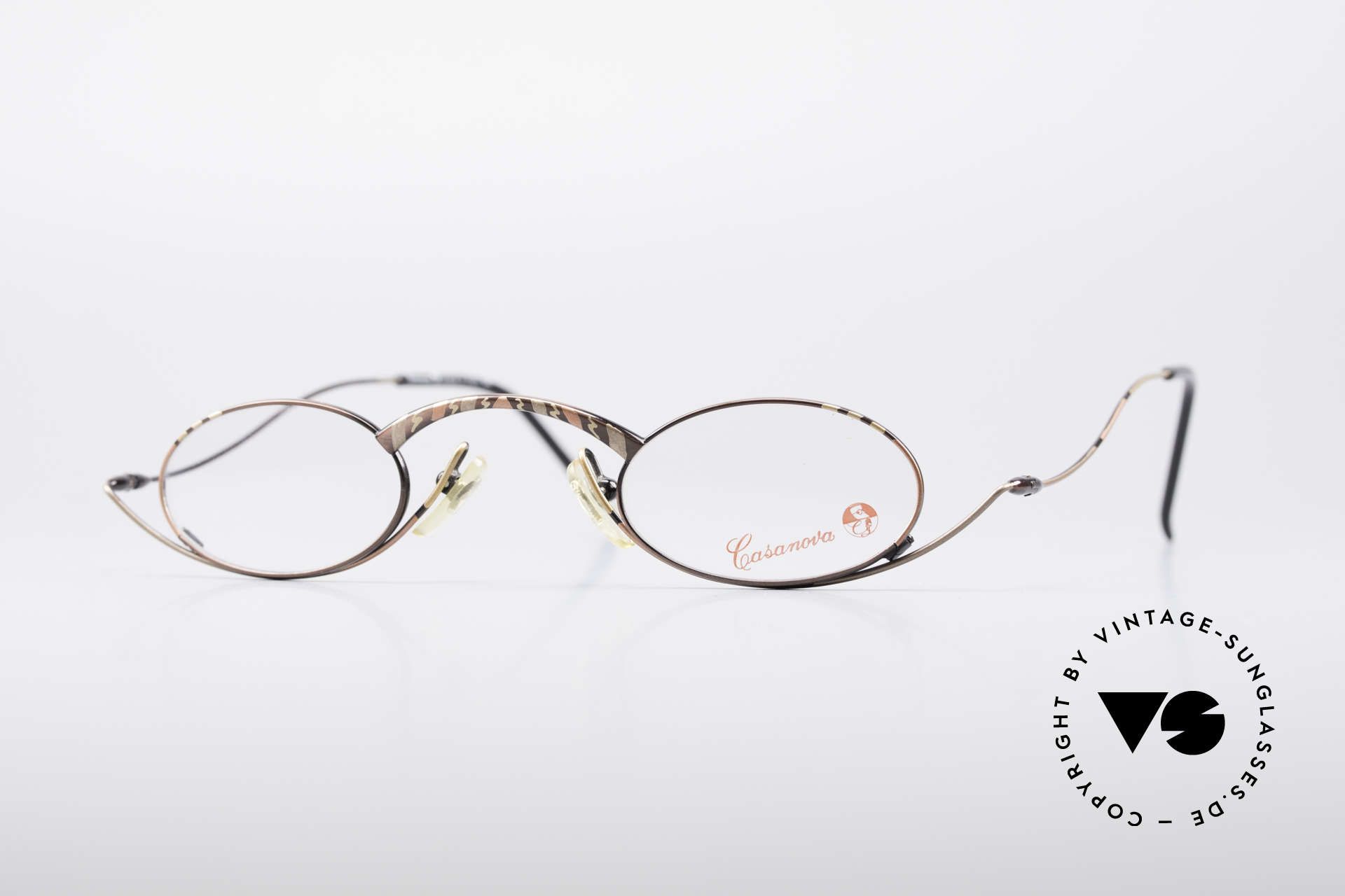 Casanova LC44 Vintage Reading Glasses, extraordinary vintage reading glasses by CASANOVA, Made for Men and Women