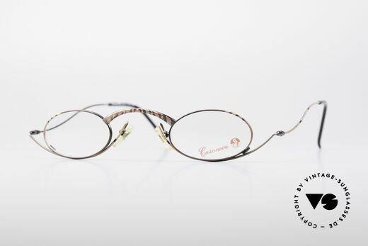 Casanova LC44 Vintage Reading Glasses Details