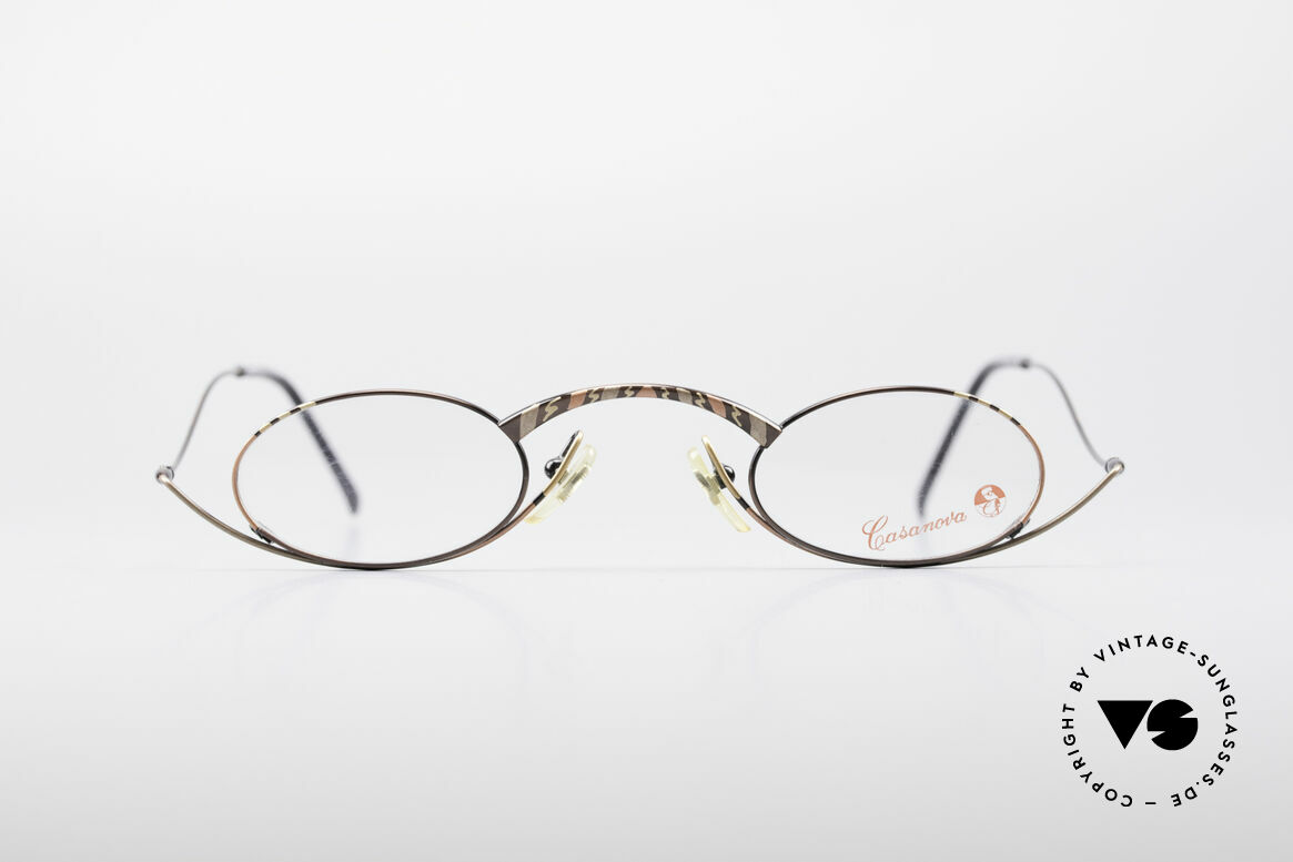 Casanova LC44 Vintage Reading Glasses, design: full of verve and something really different!, Made for Men and Women