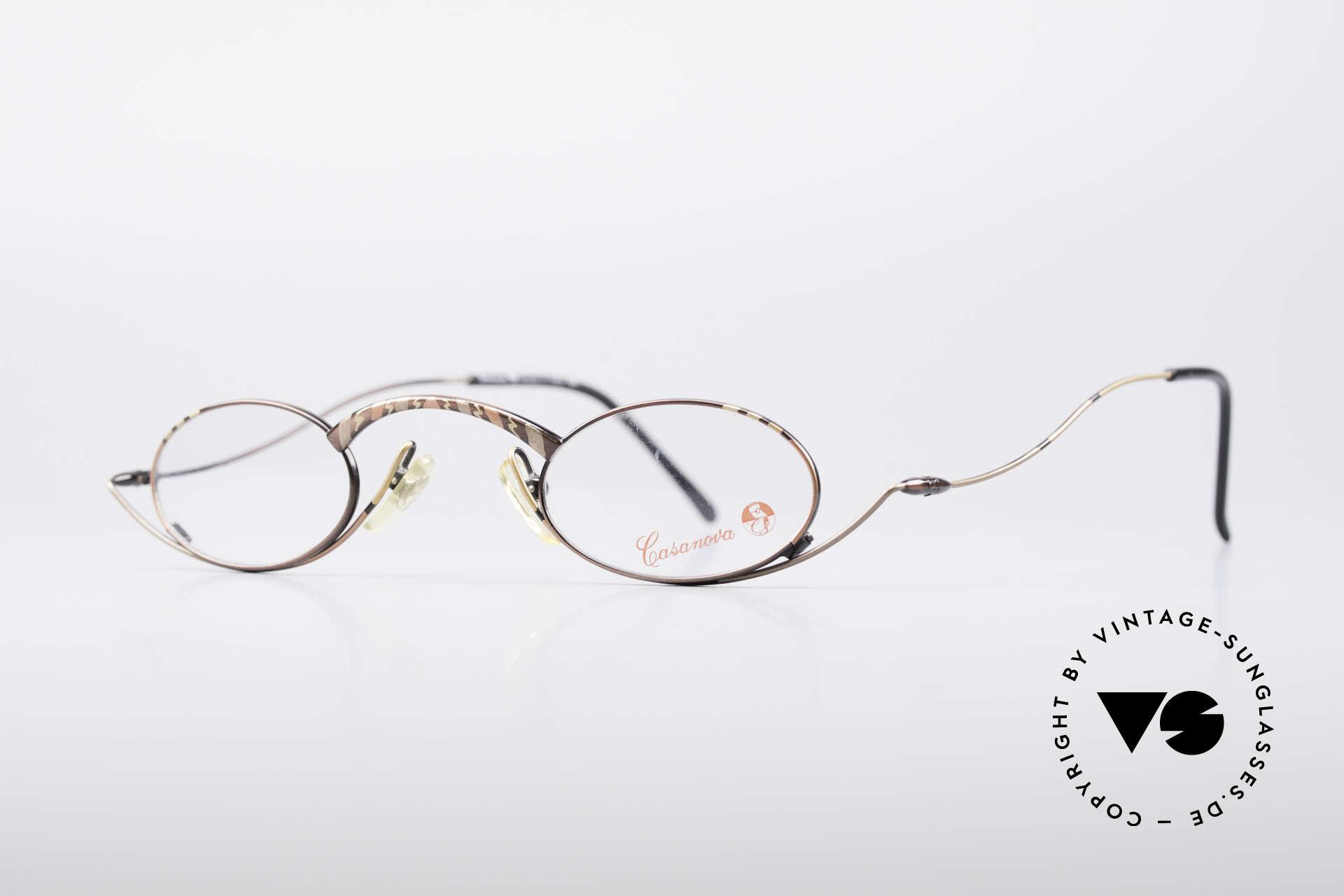 Casanova LC44 Vintage Reading Glasses, top-notch craftsmanship & very subtle frame pattern, Made for Men and Women
