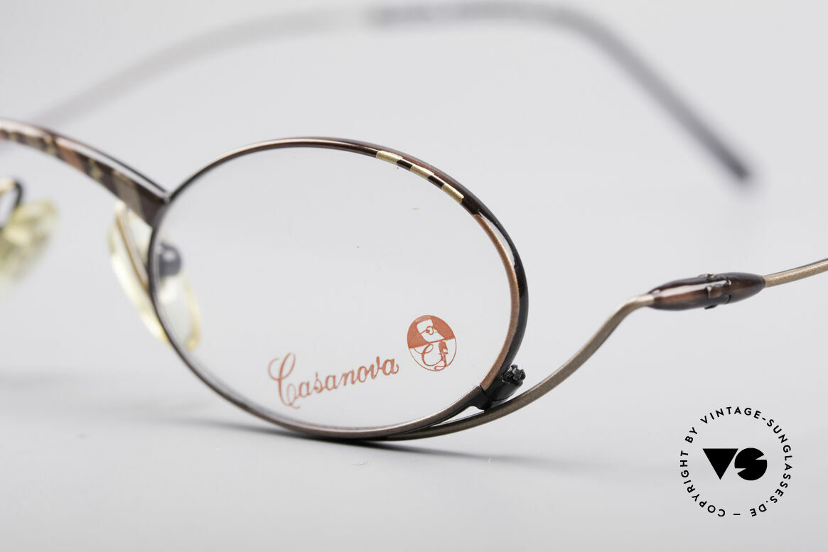 Casanova LC44 Vintage Reading Glasses, simply a fantastic combination of art & functionality, Made for Men and Women