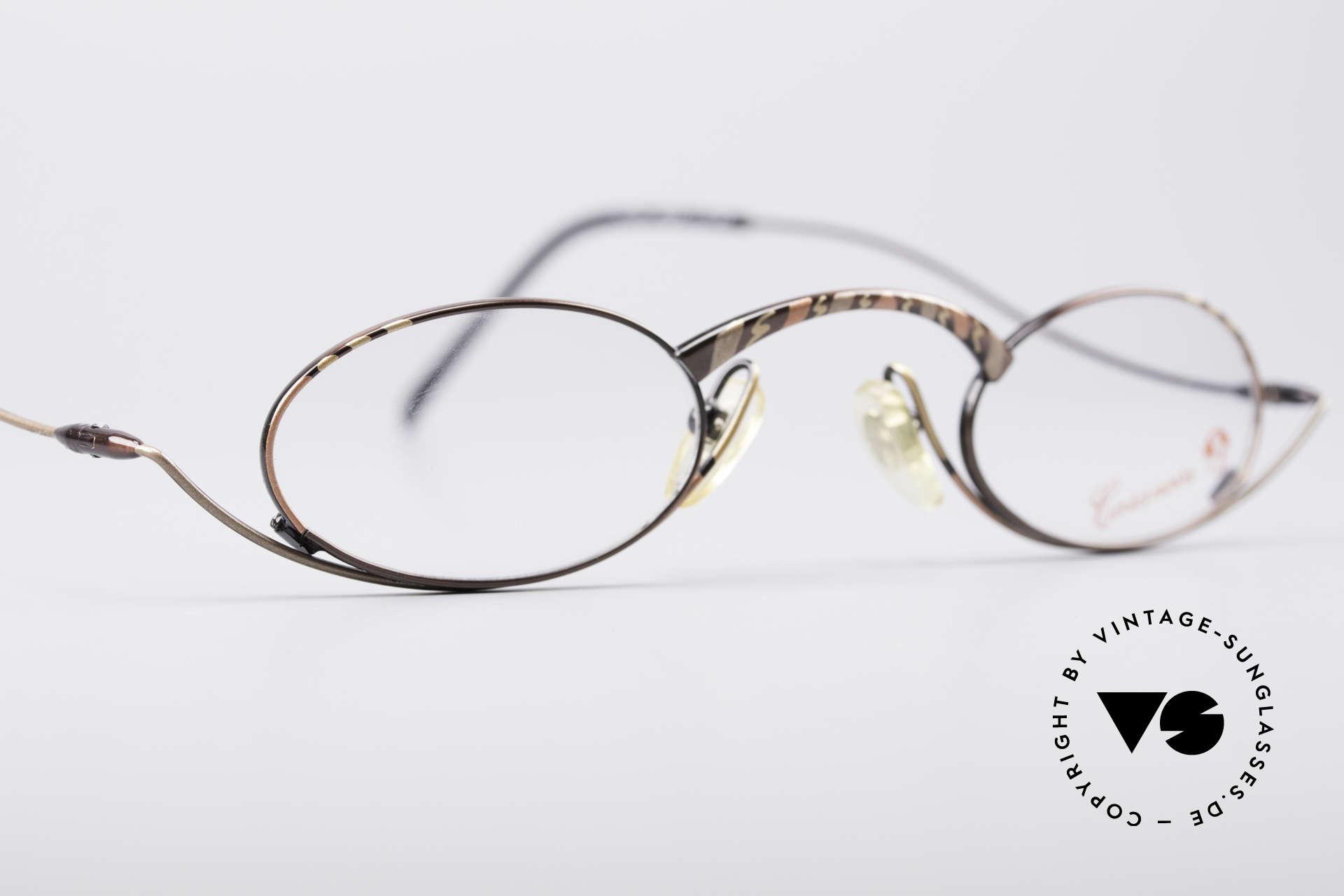 Casanova LC44 Vintage Reading Glasses, unworn (like all our rare vintage reading eyeglasses), Made for Men and Women