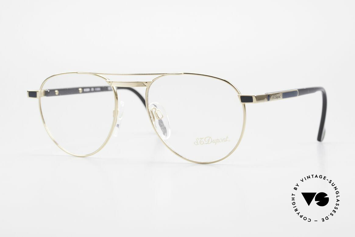 S.T. Dupont D004 Men's Luxury Aviator Glasses, very exclusive S.T. DUPONT luxury glasses, size 52°18, Made for Men
