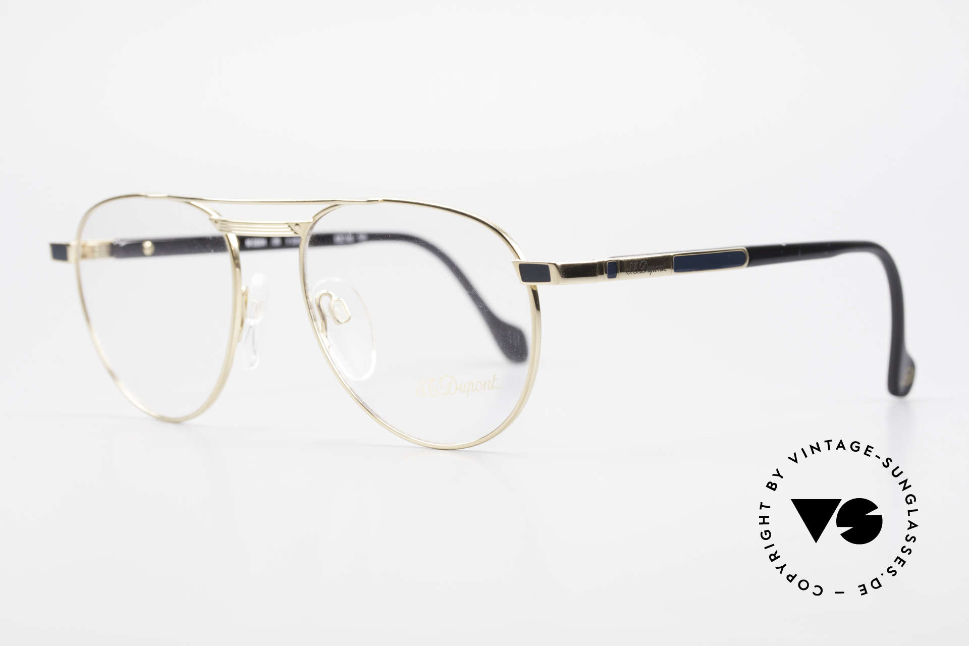 S.T. Dupont D004 Men's Luxury Aviator Glasses, very noble & 1st class wearing comfort, U must feel it!, Made for Men
