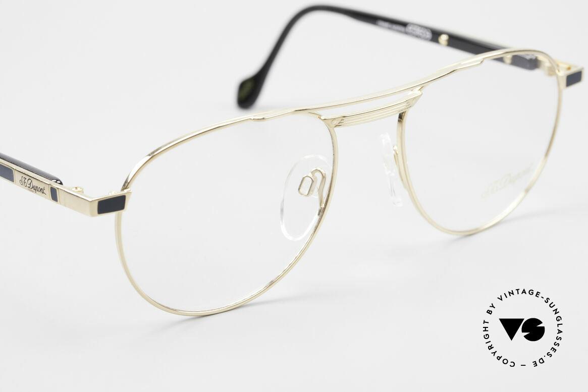 S.T. Dupont D004 Men's Luxury Aviator Glasses, unworn (like all our rare vintage frames by S.T. Dupont), Made for Men