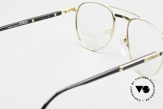 S.T. Dupont D004 Men's Luxury Aviator Glasses, NO RETRO eyeglasses, but a precious 1990's ORIGINAL, Made for Men