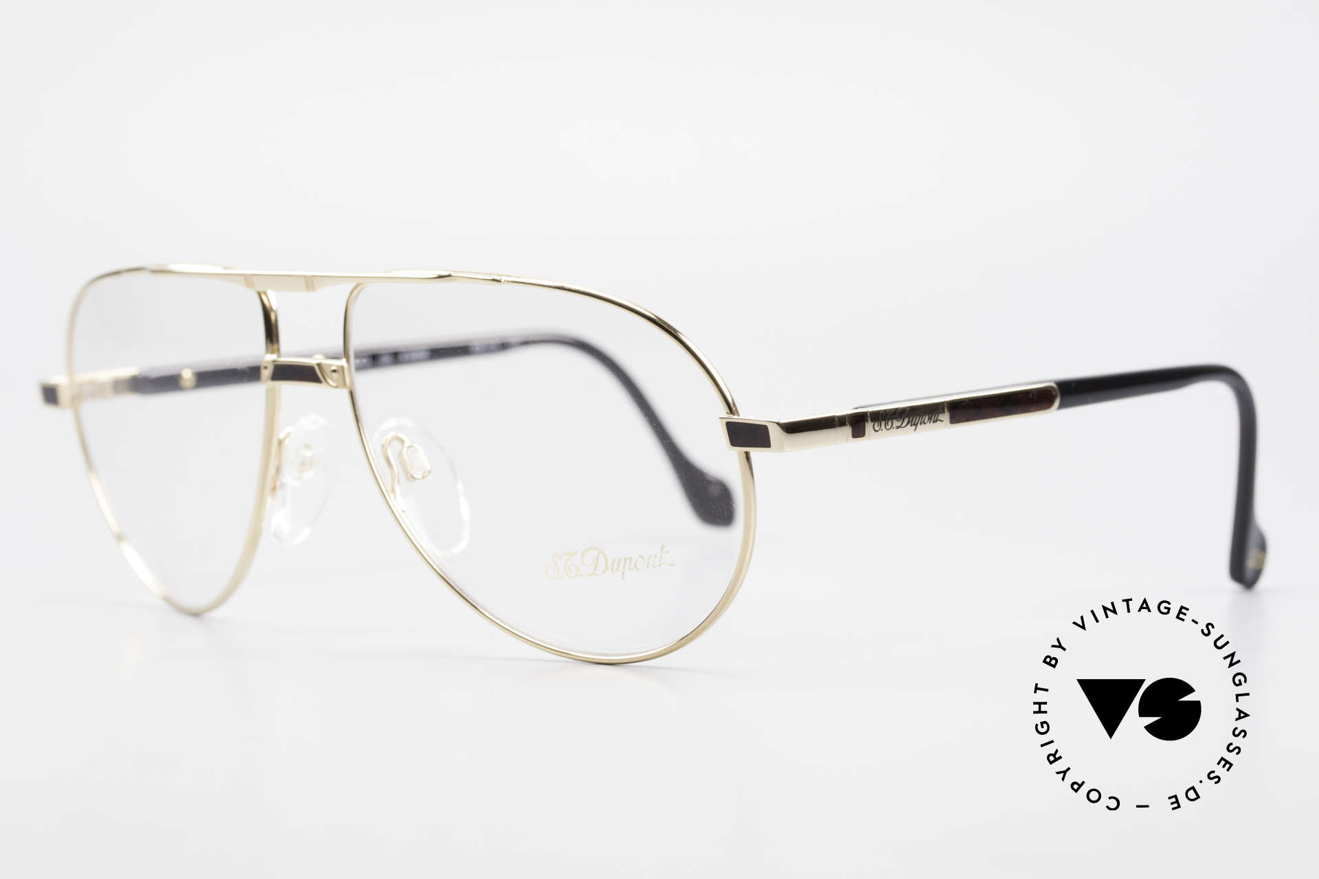 S.T. Dupont D023 Luxury Aviator Frame For Men, very noble & 1st class wearing comfort, U must feel it!, Made for Men