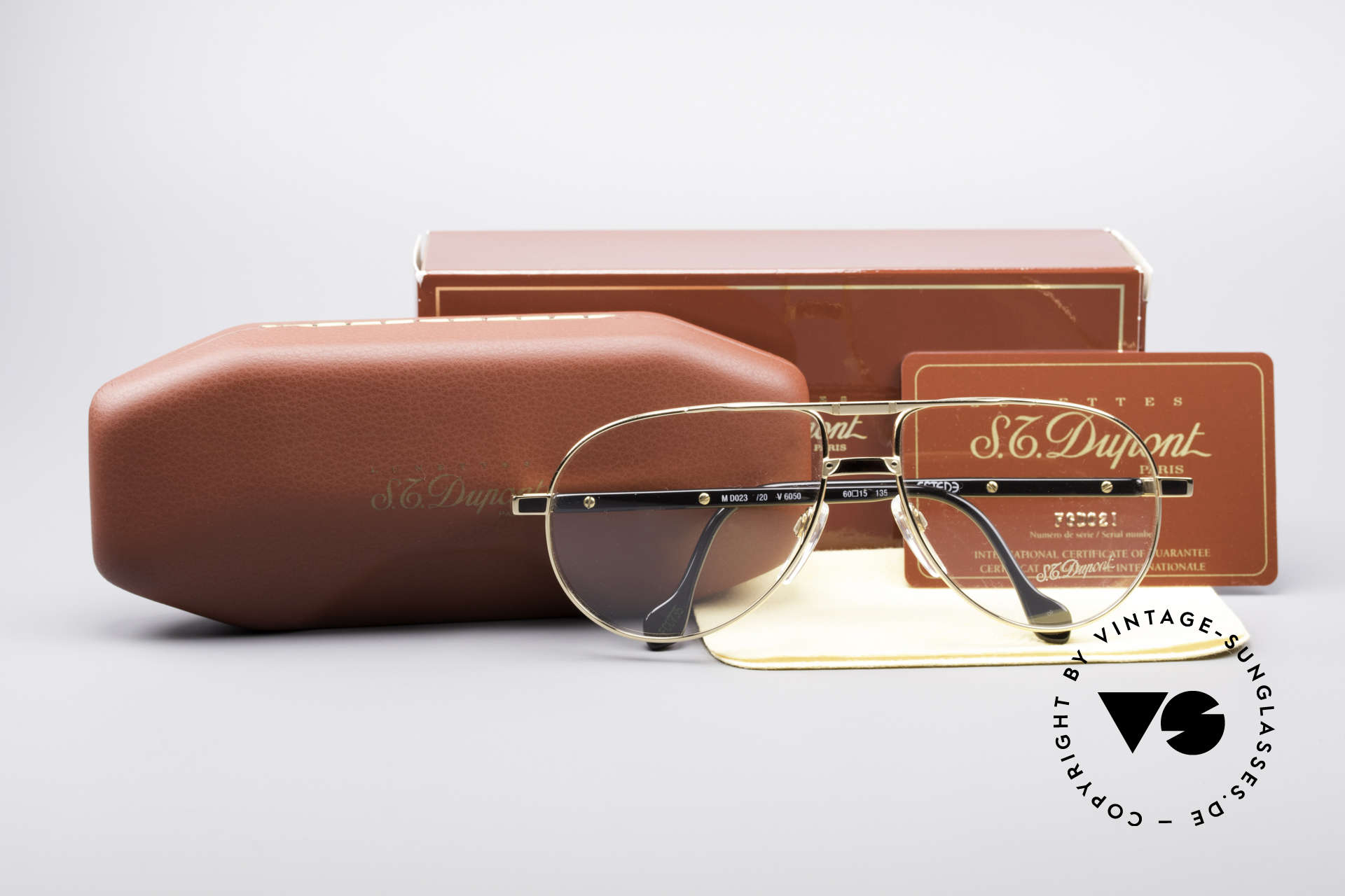 """S.T. Dupont D023 Luxury Aviator Frame For Men, a vintage """"must-have"""" of incredible top-quality; vertu!, Made for Men"""
