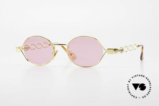 Moschino MM334 Ladies Designer Frame Pink Details