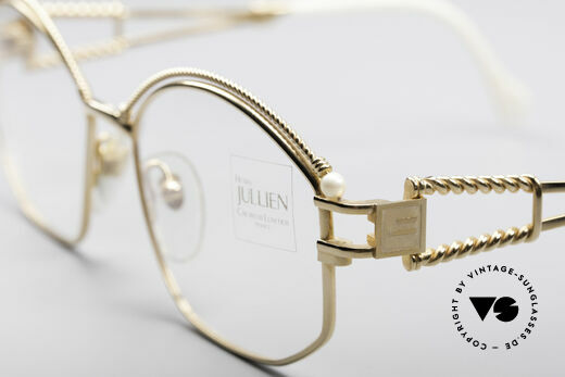 Henry Jullien Cizeta Jewellery Gold Frame