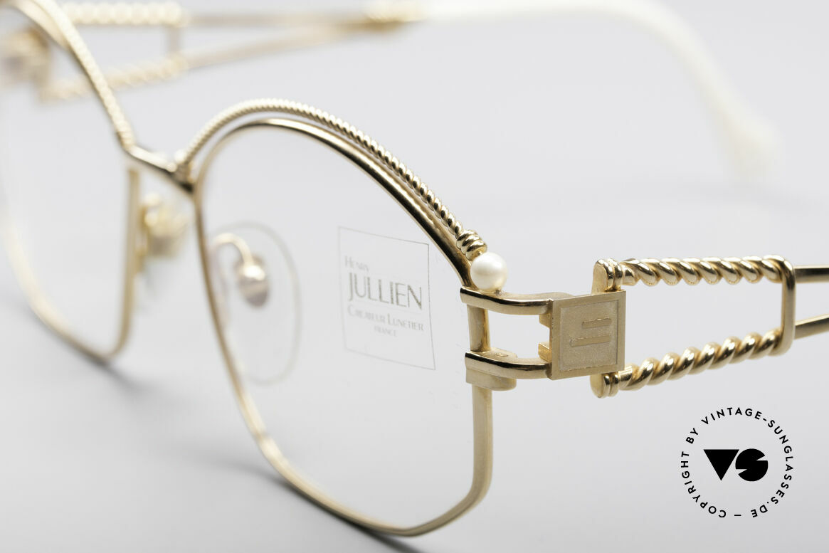 Henry Jullien Cizeta Jewellery Gold Frame, incredible premium quality thanks to costly handicraft, Made for Women