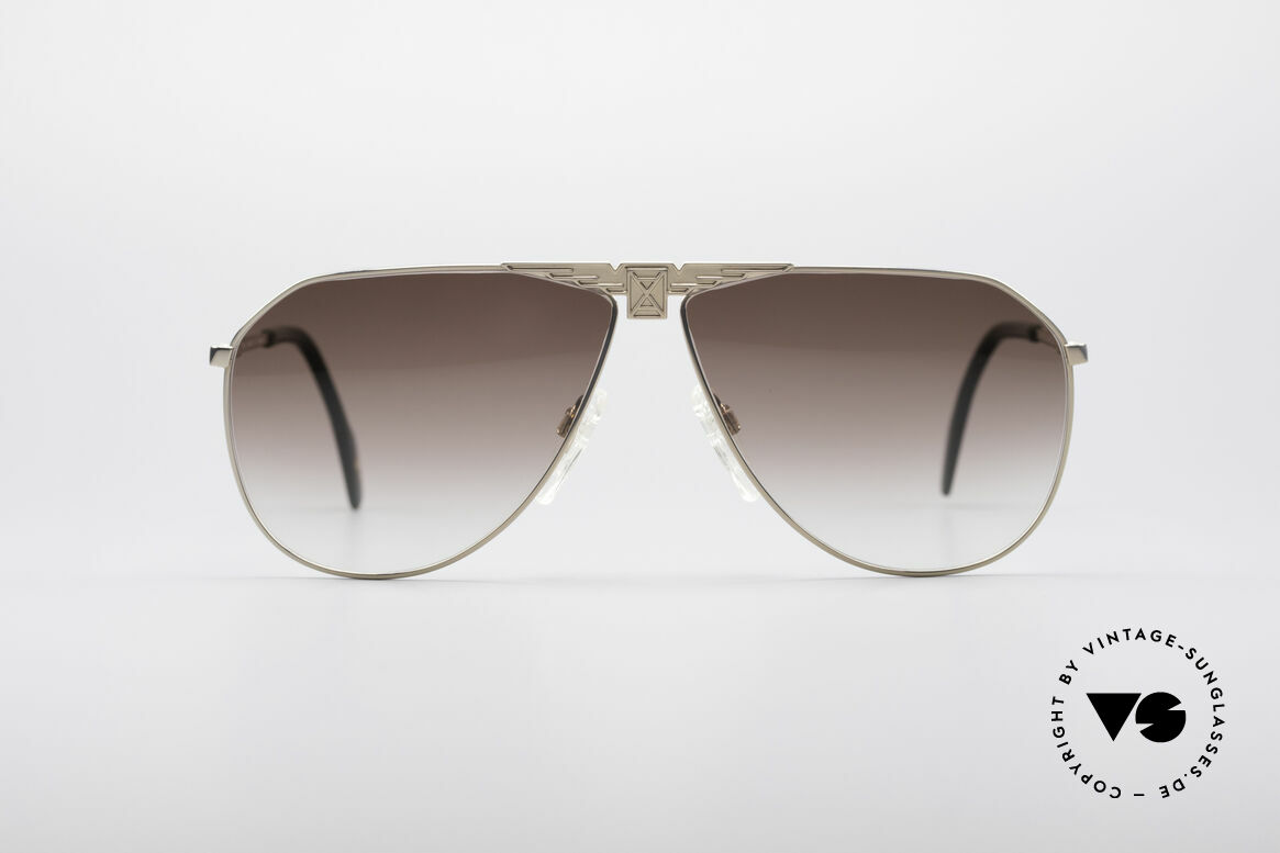Longines 0150 True Vintage Aviator Shades, precious frame with spring hinges (1. class comfort), Made for Men