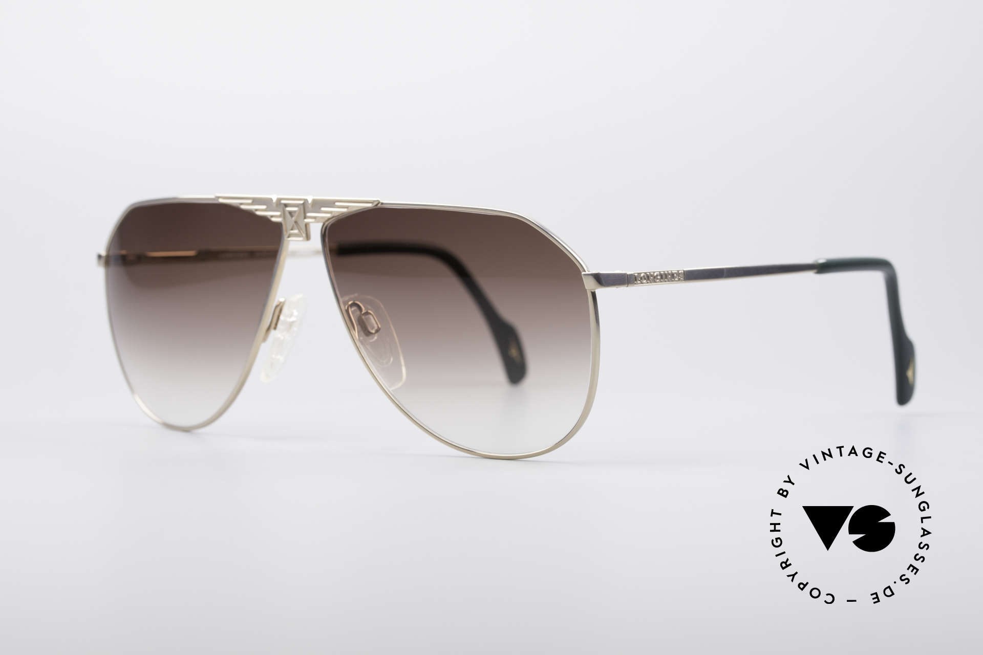 Longines 0150 True Vintage Aviator Shades, made in cooperation with Metzler (made in Germany), Made for Men