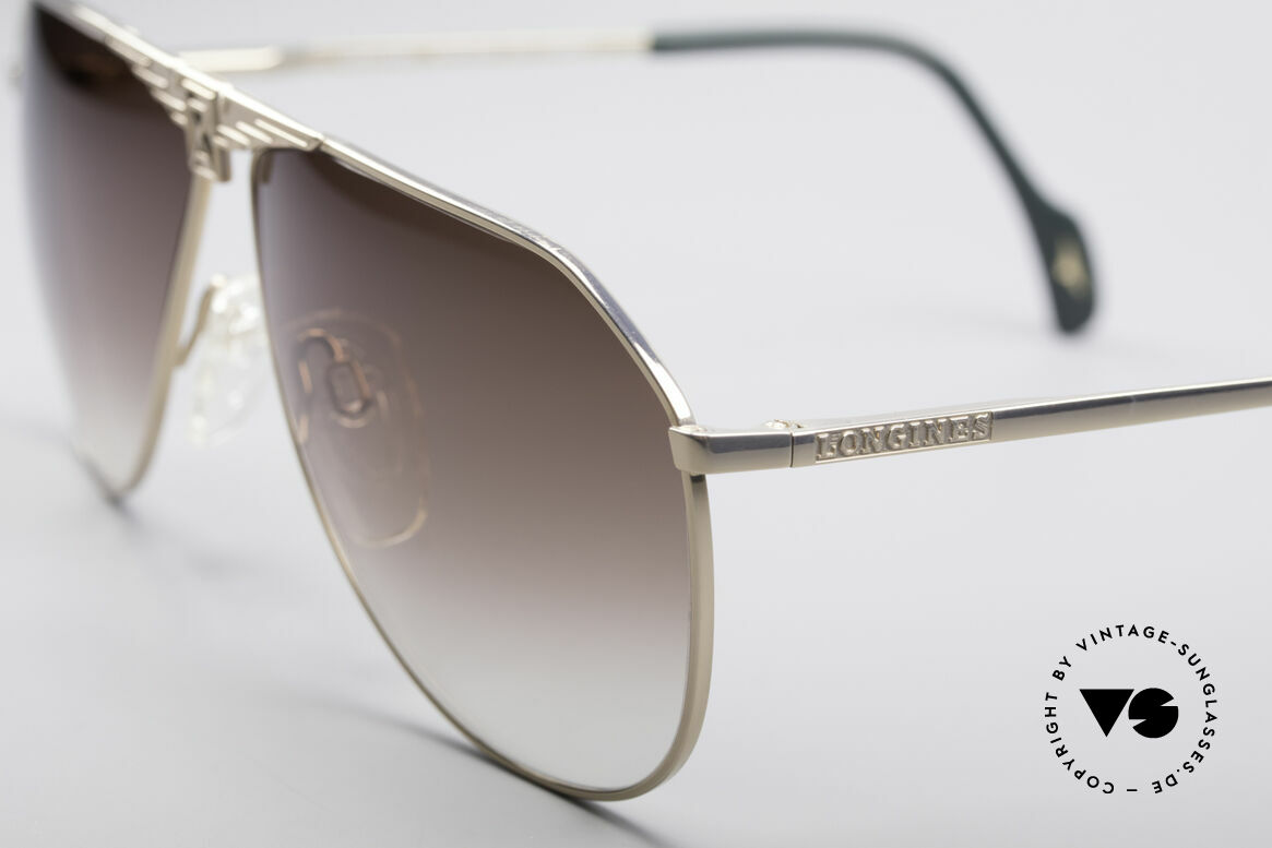 Longines 0150 True Vintage Aviator Shades, unworn, NOS (like all our premium vintage glasses), Made for Men