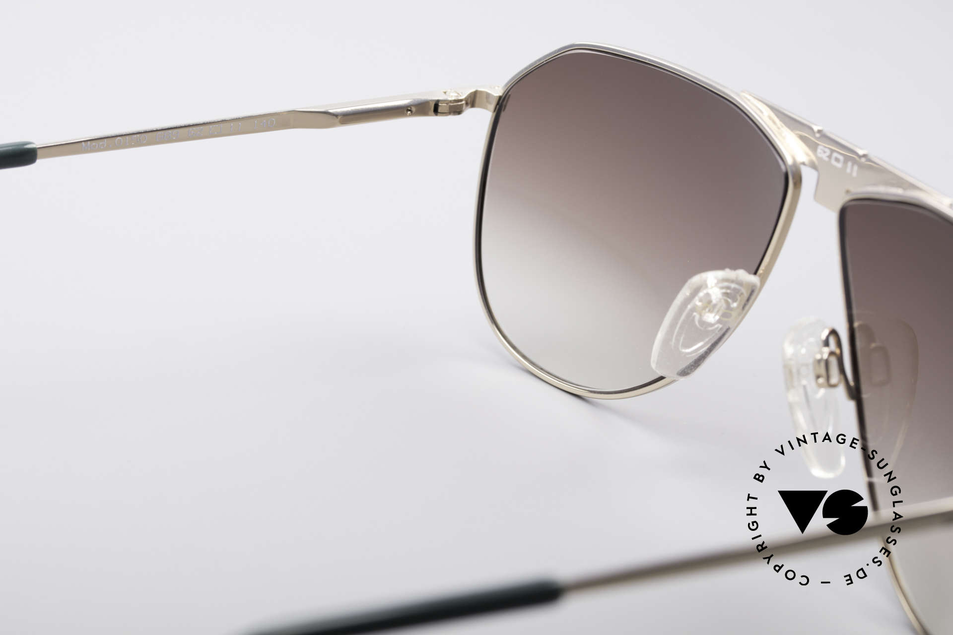 Longines 0150 True Vintage Aviator Shades, the frame is also made for optical lenses, if needed, Made for Men