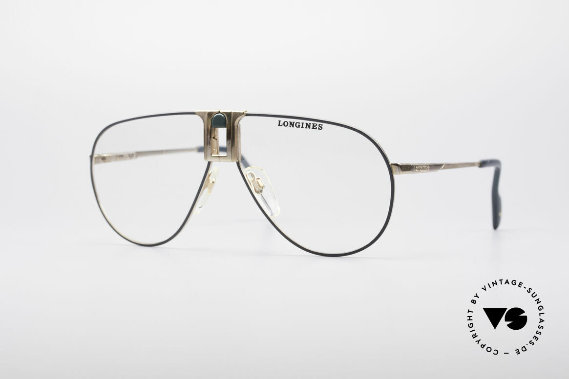 Longines 0154 1980's Aviator Glasses