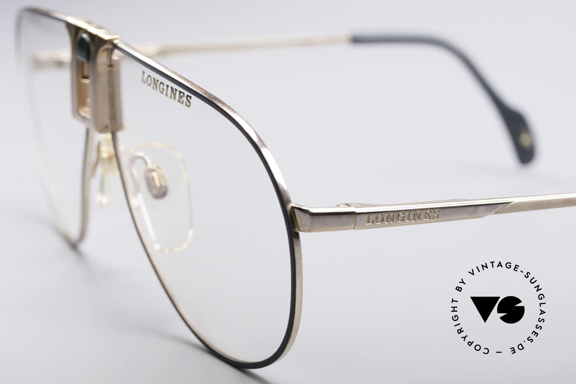 Longines 0154 1980's Aviator Glasses, luxury designer glasses for gentlemen; pure lifestyle!, Made for Men