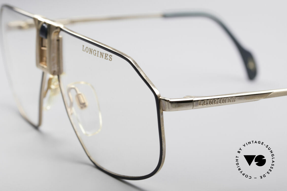 Longines 0153 80's Luxury Men's Frame, unworn (like all our premium vintage eyeglass-frames), Made for Men