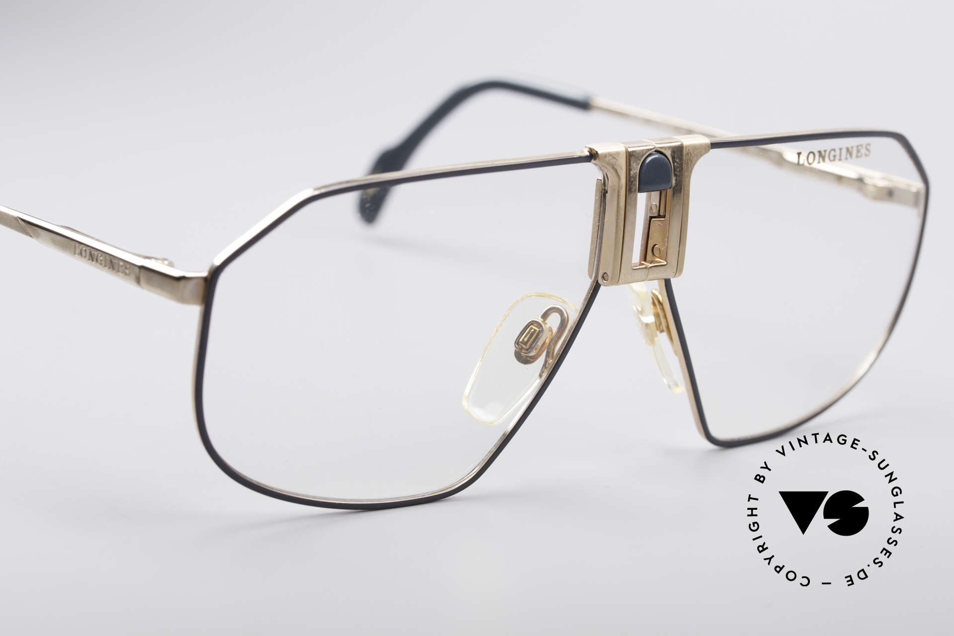 Longines 0153 80's Luxury Men's Frame, NO RETRO eyeglasses, but a true old 1980's ORIGINAL!, Made for Men