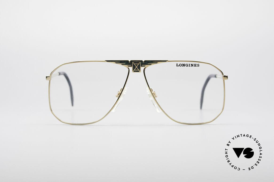 Longines 0155 80's Designer Frame For Men, precious frame with spring hinges (1st class comfort), Made for Men