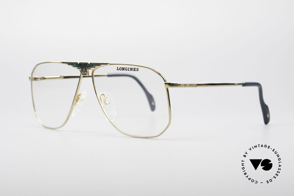 Longines 0155 80's Designer Frame For Men, made in cooperation with Metzler (made in Germany), Made for Men