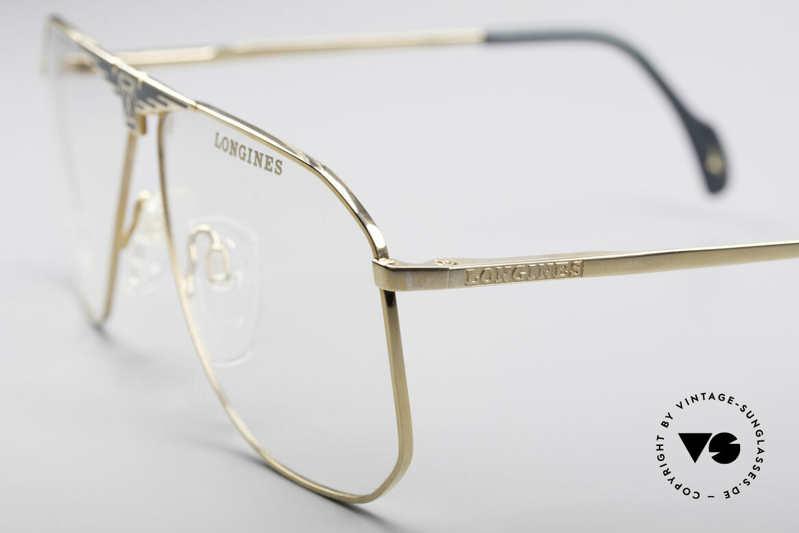 Longines 0155 80's Designer Frame For Men, unworn (like all our premium vintage LUXURY frames), Made for Men