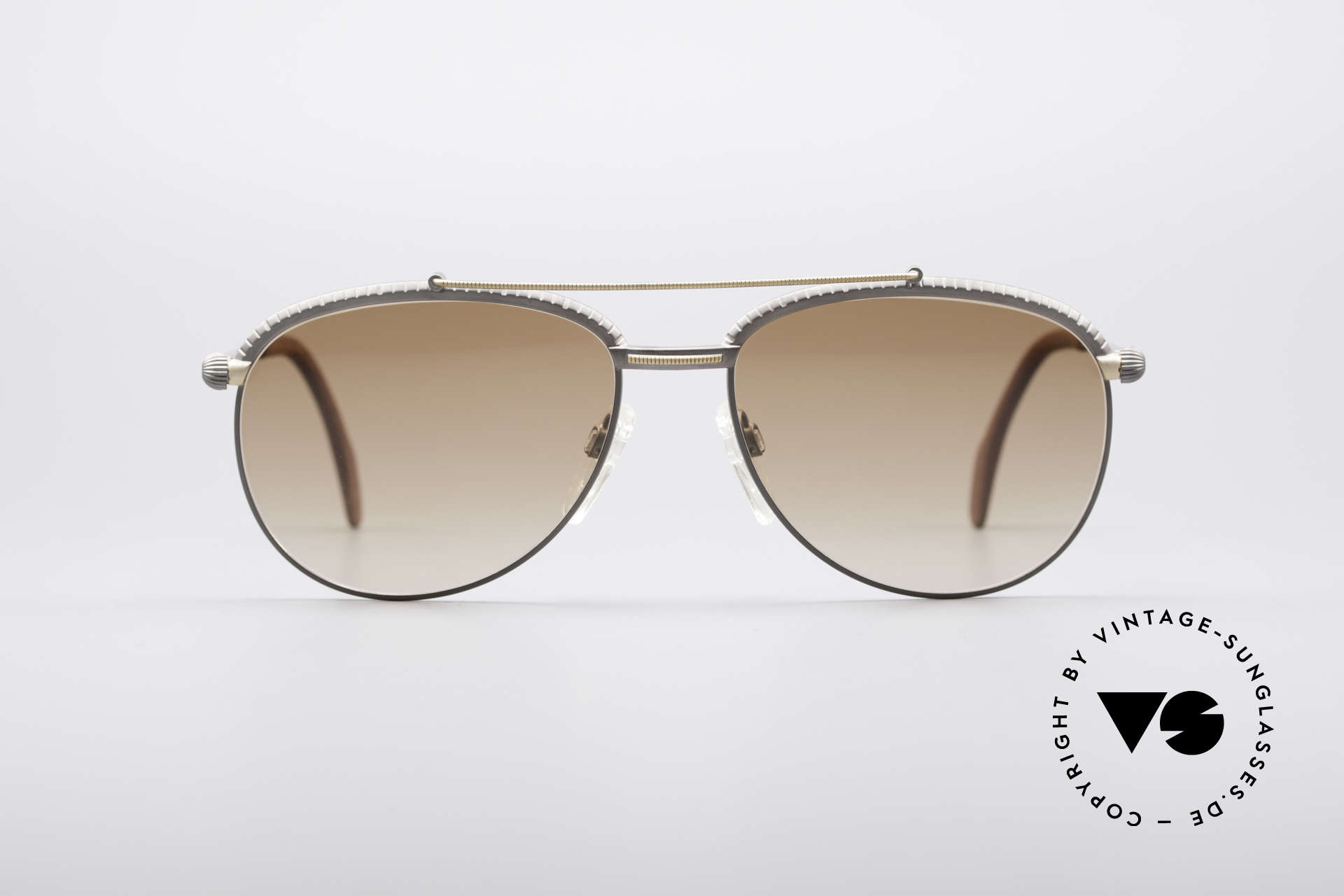 Longines 0161 80's Luxury Sunglasses, high-end 'made in Germany' quality; e.g. spring hinges, Made for Men