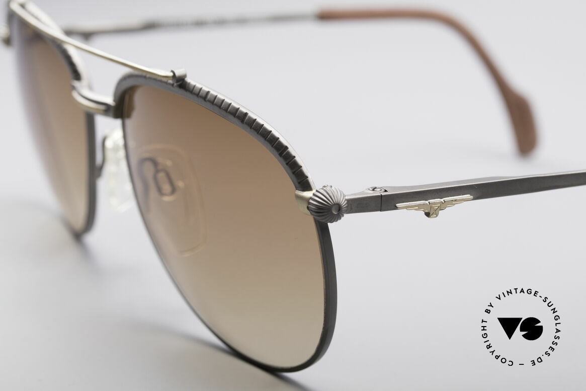 Longines 0161 80's Luxury Sunglasses, unworn, one of a kind (like all our rare vintage shades), Made for Men