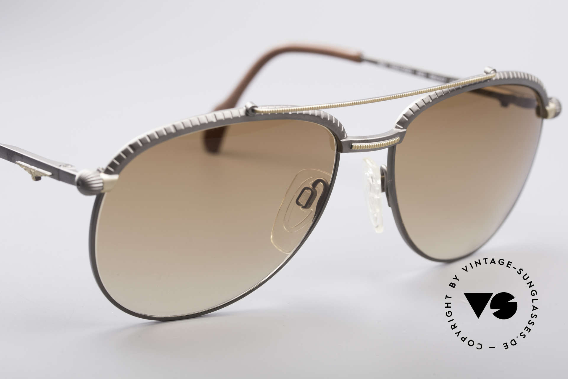 Longines 0161 80's Luxury Sunglasses, NO RETRO fashion, but an app. 30 years old ORIGINAL!, Made for Men