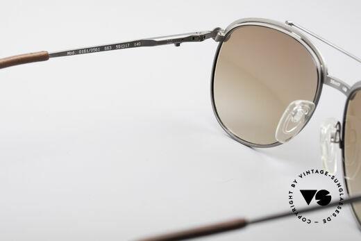 Longines 0161 80's Luxury Sunglasses, just precious, unique and best craftsmanship (100% UV), Made for Men