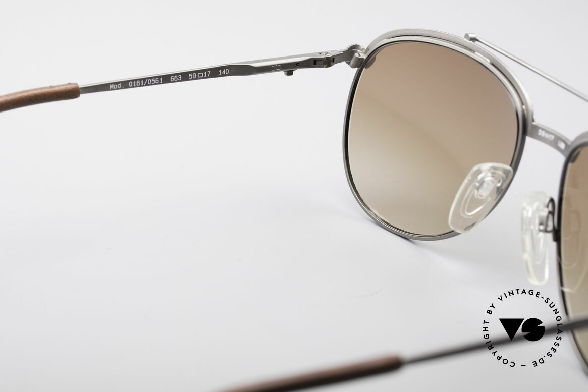 Longines 0161 80's Luxury Sunglasses