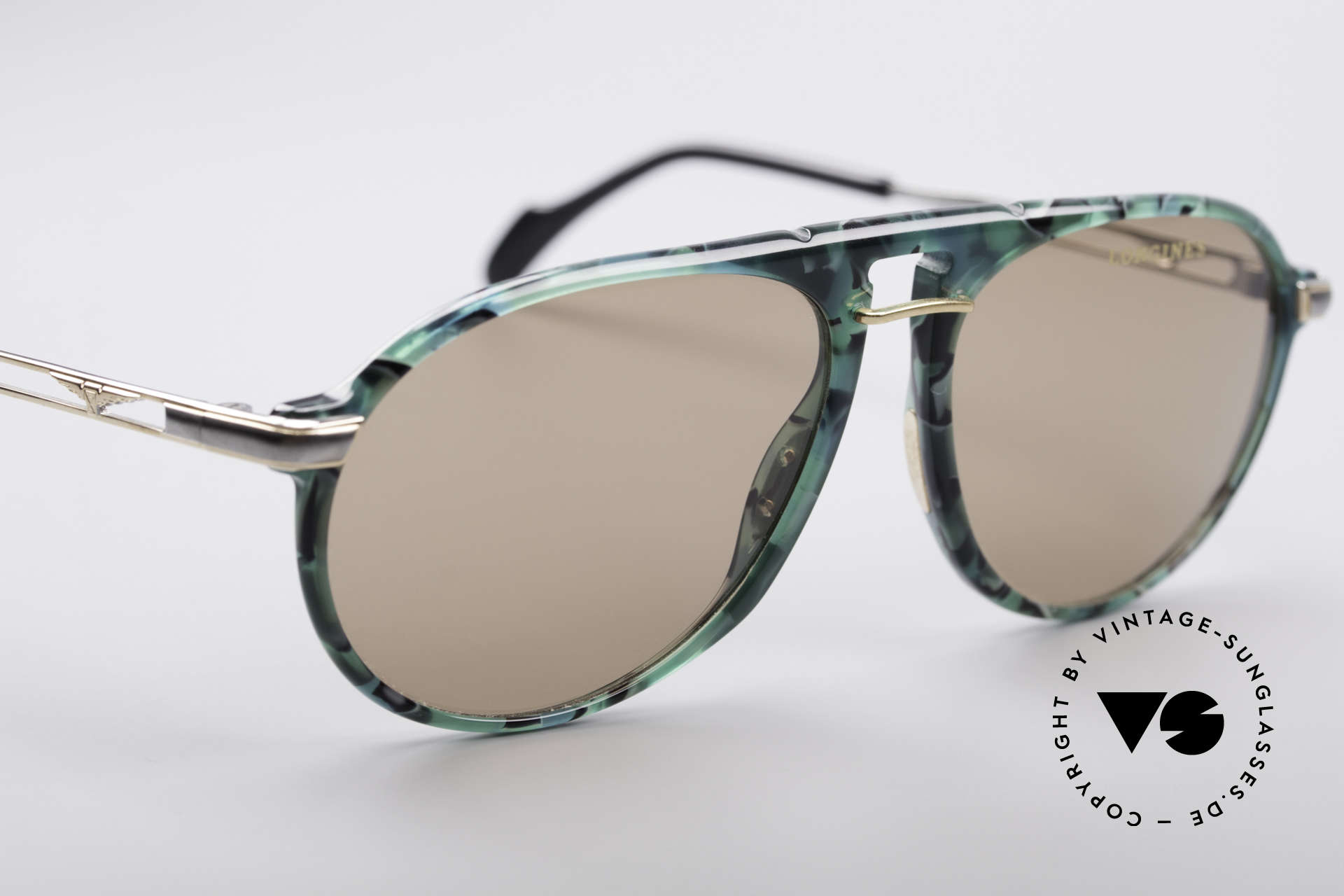 Longines 4200 Zeiss Mineral Lenses, never worn (like all our premium vintage shades), Made for Men