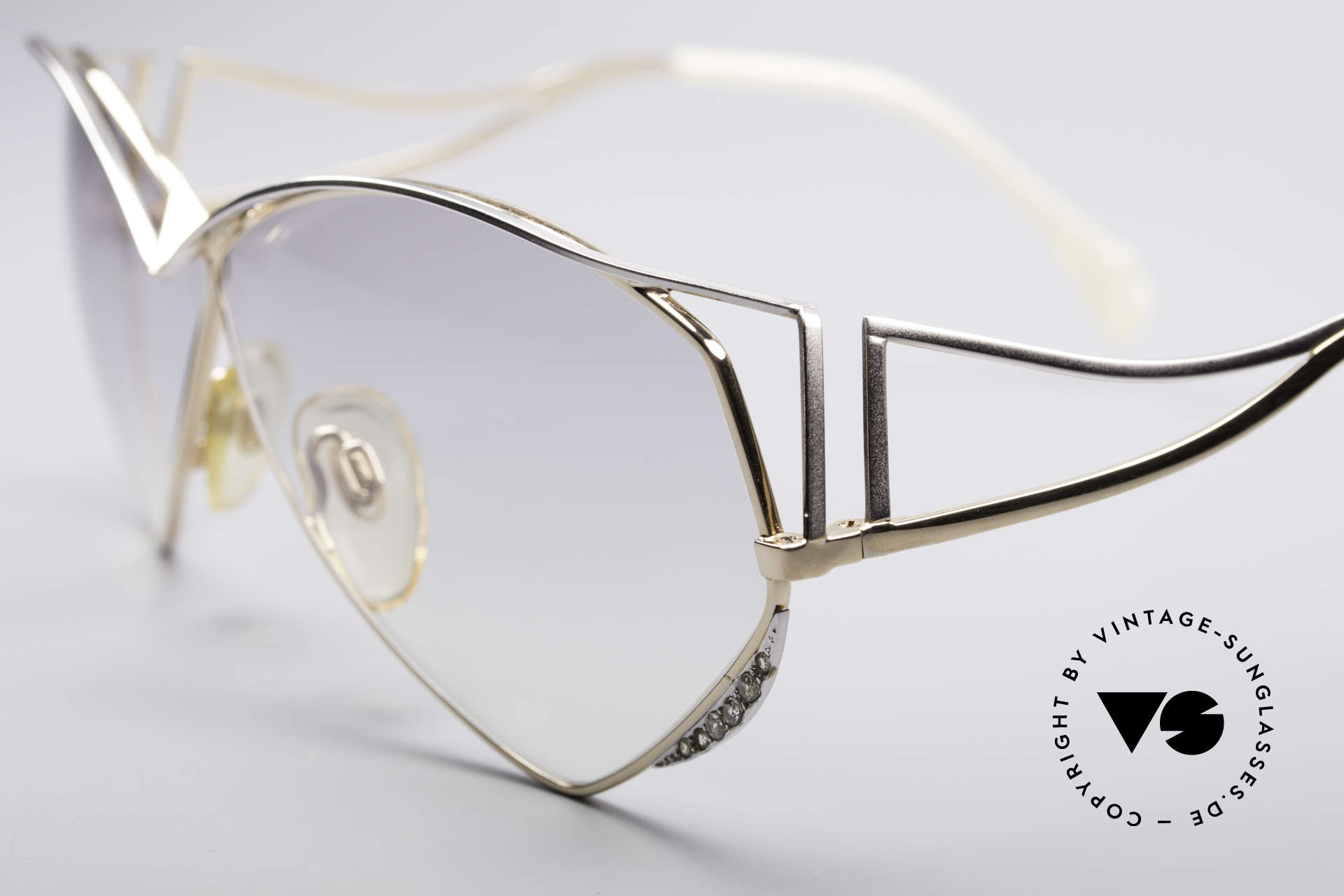 Zollitsch Navette Princess Sunglasses, also wearable at night .. or any occasion / any outfit, Made for Women