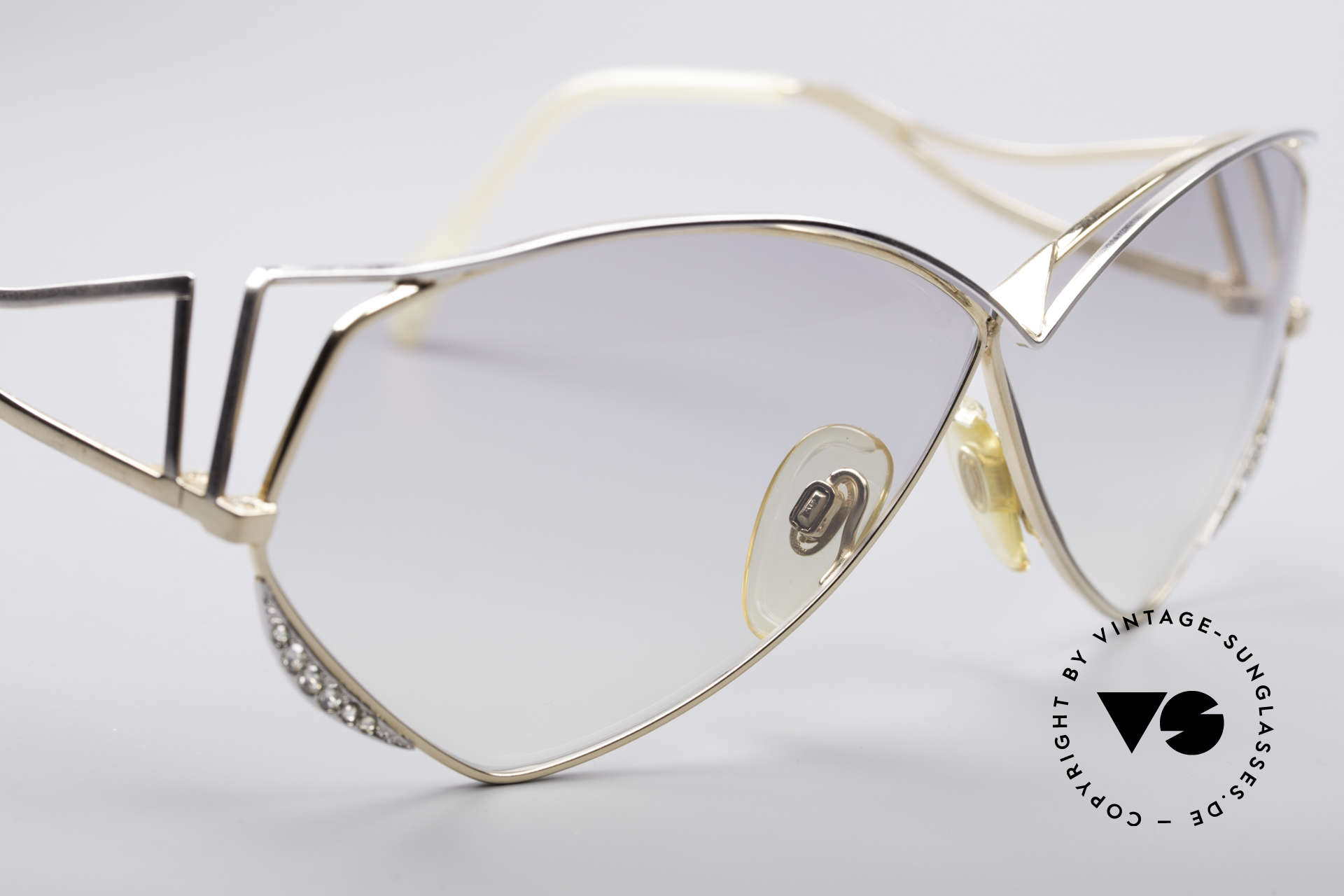 Zollitsch Navette Princess Sunglasses, with glittering rhinestones - made for a princess ;), Made for Women