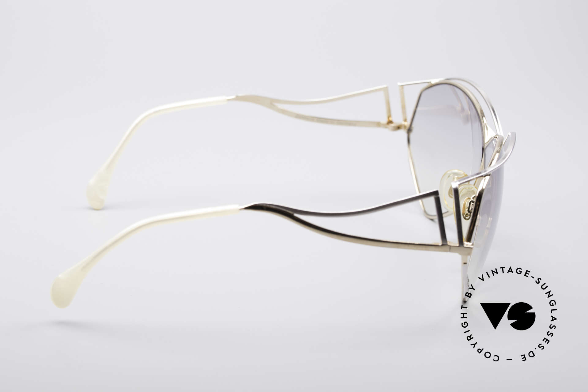 Zollitsch Navette Princess Sunglasses, unworn (like all our rare vintage Zollitsch glasses), Made for Women