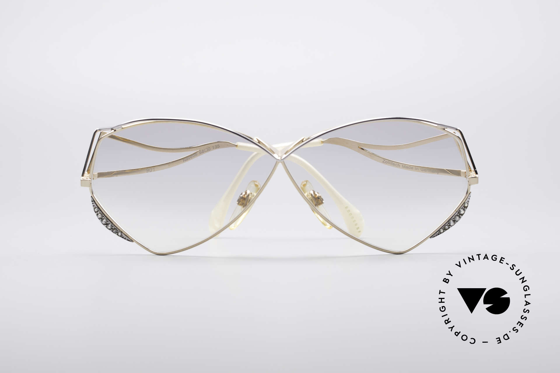 Zollitsch Navette Princess Sunglasses, NO retro fashion; a gorgeous 25 years old ORIGINAL, Made for Women