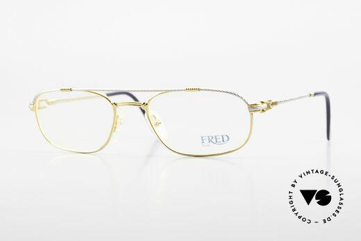 Fred Fregate Luxury Sailing Glasses M Frame Details