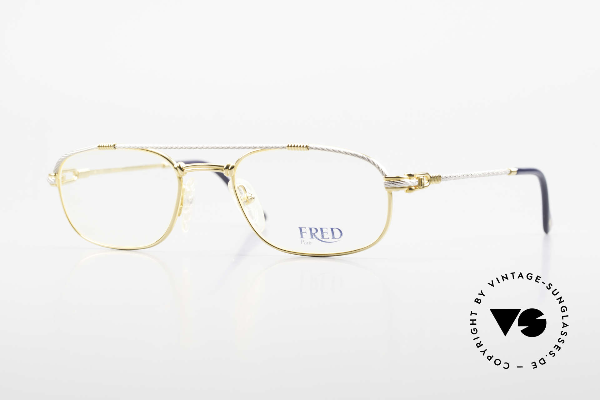 Fred Fregate Luxury Sailing Glasses S Frame, marine design (distinctive Fred) in high-end quality!, Made for Men