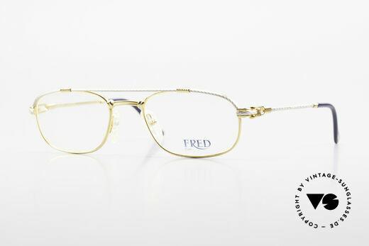 Fred Fregate Luxury Sailing Glasses S Frame Details