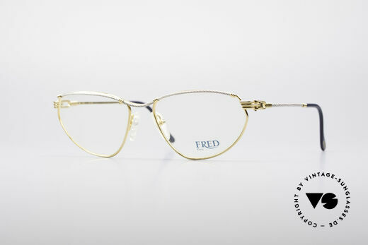 Fred Alize Luxury S Eyeglasses Details
