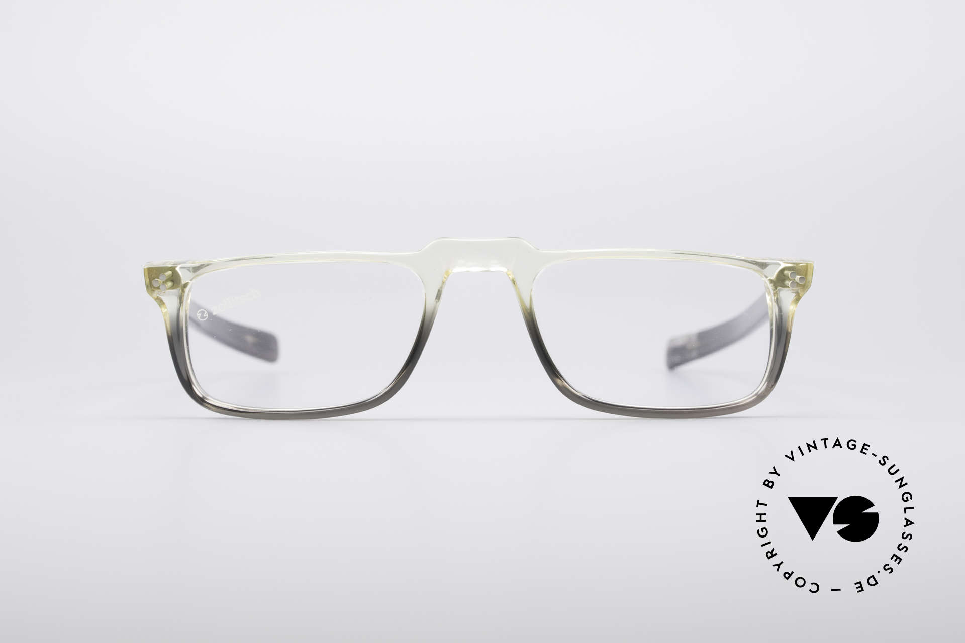 Zollitsch 414 Old 70's Reading Glasses, greenish / grayish coloring (typically 70's fashion), Made for Men