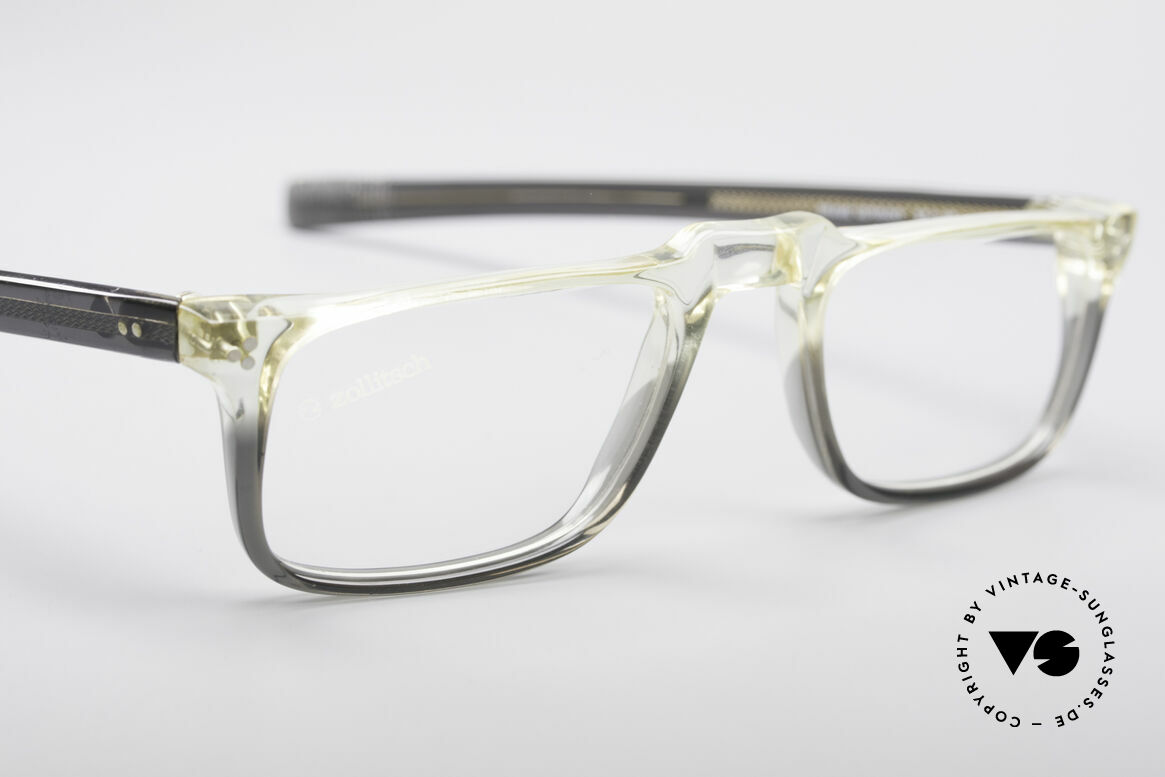 Zollitsch 414 Old 70's Reading Glasses, unworn (like all our rare vintage Zollitsch glasses), Made for Men