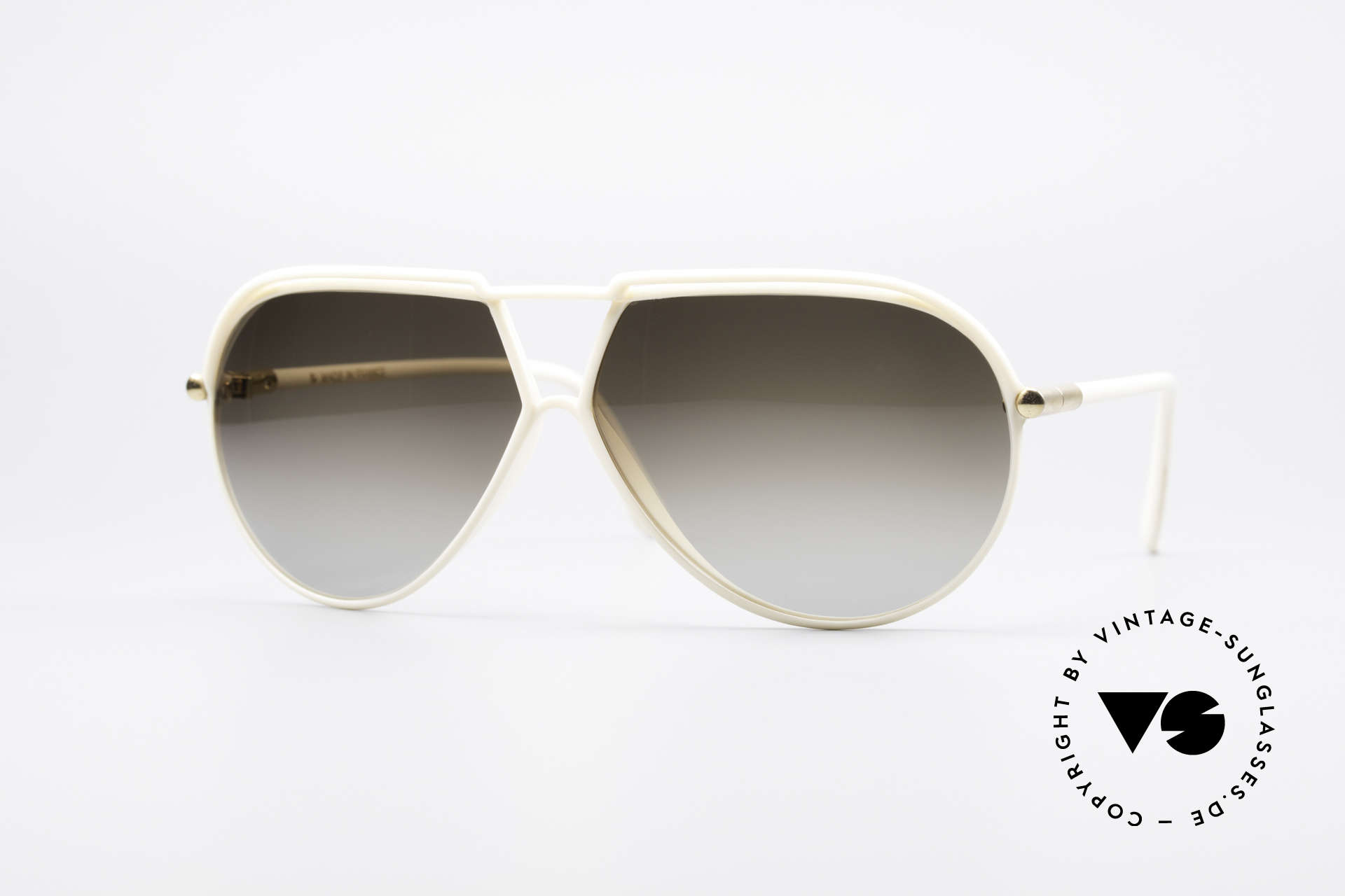 Yves Saint Laurent 8129 Y17 70's Aviator Shades, plain elegance by Yves Saint Laurent from the 1970s, Made for Men and Women