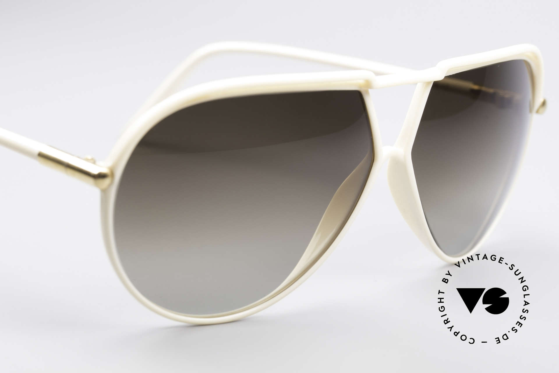 Yves Saint Laurent 8129 Y17 70's Aviator Shades, not from a present collection, but true 1970's shades, Made for Men and Women