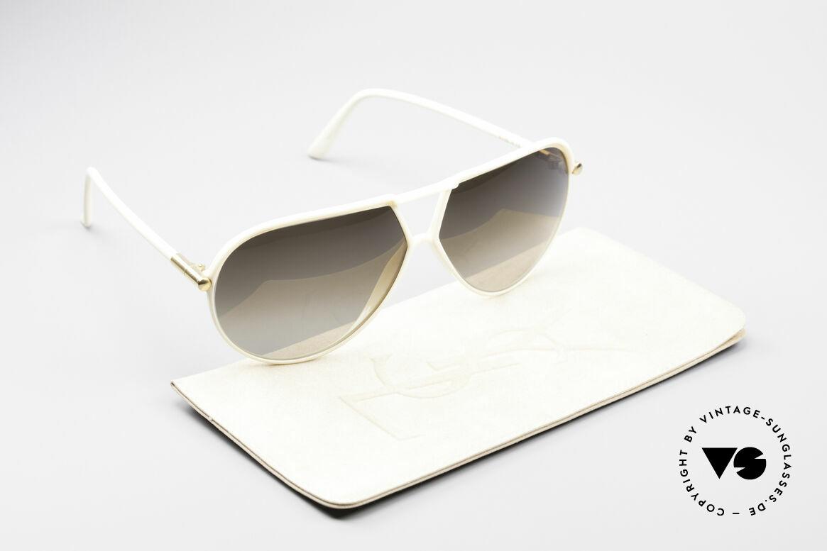 Yves Saint Laurent 8129 Y17 70's Aviator Shades