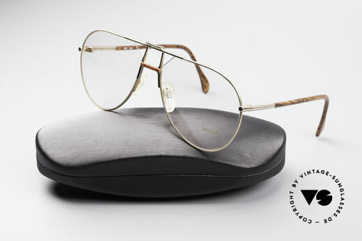 Jaguar 407 80's Luxury Accessory, demo lenses can be replaced with optical lenses, Made for Men
