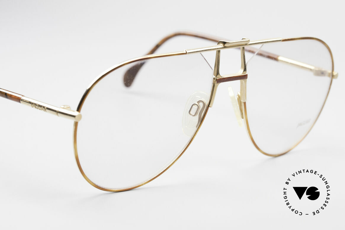 Jaguar 407 80's Luxury Eyeglasses, NO RETRO EYEWEAR, but an old Jaguar original, Made for Men