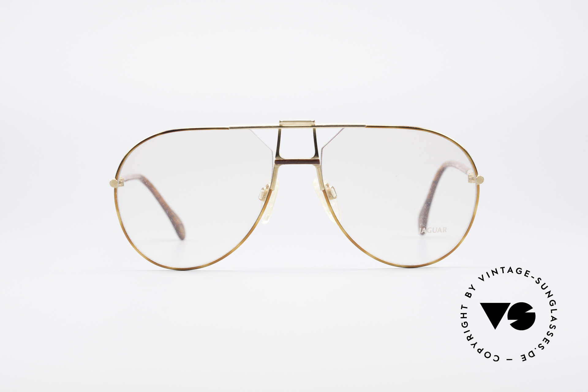 Jaguar 407 80's Luxury Eyeglasses, the perfect accessory for an old XJS or 'E-Type', Made for Men