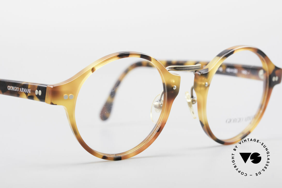 Giorgio Armani 341 Panto Eyeglass-Frame, never worn (like all our vintage Giorgio Armani specs), Made for Men